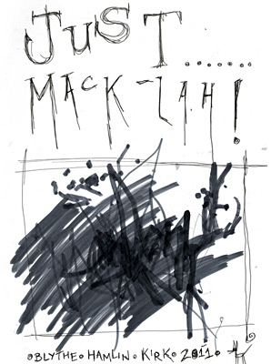 """Just... Mack-Lah!"" cover."